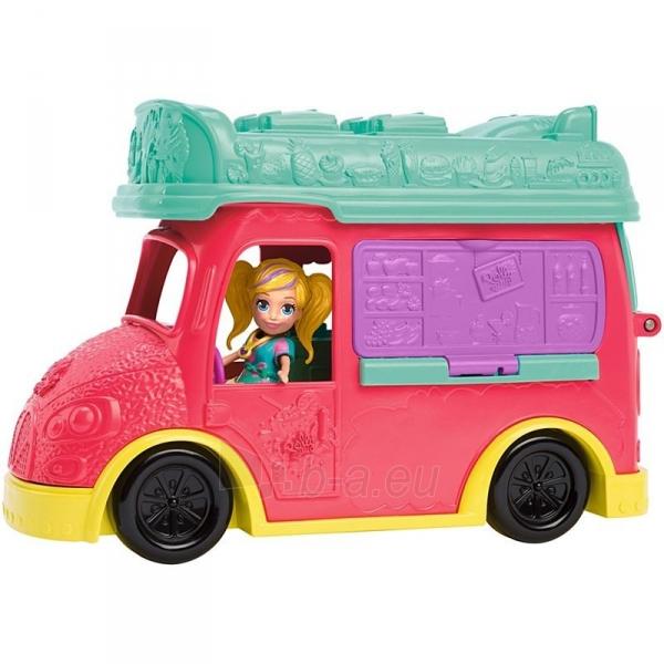 Rinkinys GDM20 Polly Pocket®Swirlin Smoothie Truck Paveikslėlis 4 iš 6 310820230595