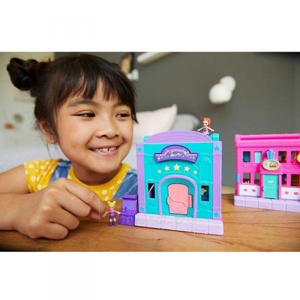 Rinkinys GGC29 Mattel Figures set Polly Pocket Pollyville Arcade Playset Paveikslėlis 1 iš 6 310820230594