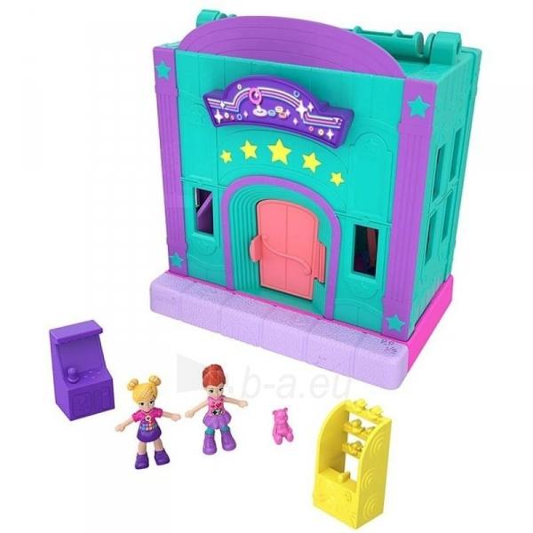 Rinkinys GGC29 Mattel Figures set Polly Pocket Pollyville Arcade Playset Paveikslėlis 2 iš 6 310820230594