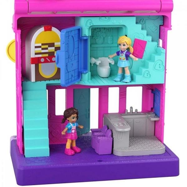 Rinkinys GGC29 Mattel Figures set Polly Pocket Pollyville Arcade Playset Paveikslėlis 4 iš 6 310820230594