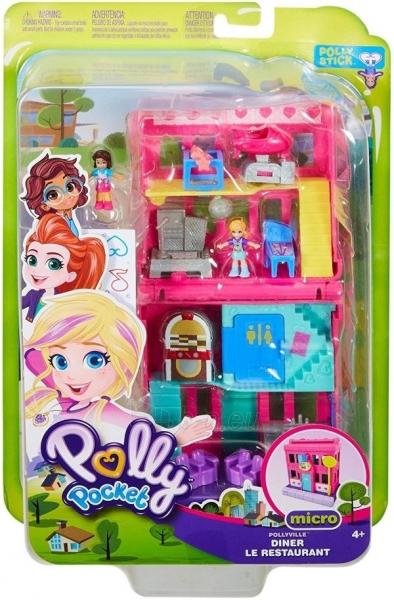 Rinkinys GGC29 Mattel Figures set Polly Pocket Pollyville Arcade Playset Paveikslėlis 6 iš 6 310820230594