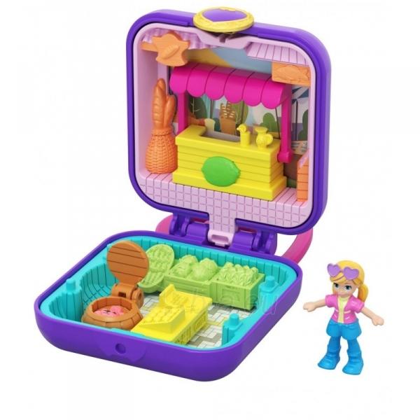 Rinkinys GKJ40 Mattel Polly Pocket Tiny Compact Paveikslėlis 1 iš 3 310820230615
