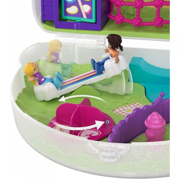 Rinkinys GKJ63 / GKJ65 Mattel Polly Pocket Tiny Power Rainbow Dream Purse Paveikslėlis 3 iš 6 310820230597