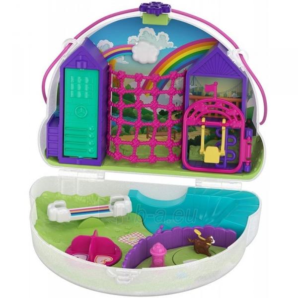 Rinkinys GKJ63 / GKJ65 Mattel Polly Pocket Tiny Power Rainbow Dream Purse Paveikslėlis 5 iš 6 310820230597