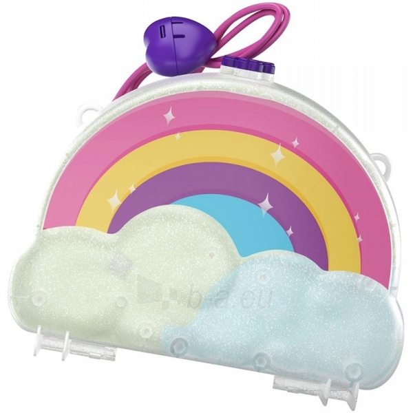 Rinkinys GKJ63 / GKJ65 Mattel Polly Pocket Tiny Power Rainbow Dream Purse Paveikslėlis 6 iš 6 310820230597