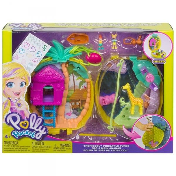 Rinkinys GKJ64 / GKJ63 Polly Pocket™ Polly™ & Lila™ Tropicool™ Pineapple Wearable Paveikslėlis 1 iš 6 310820230596