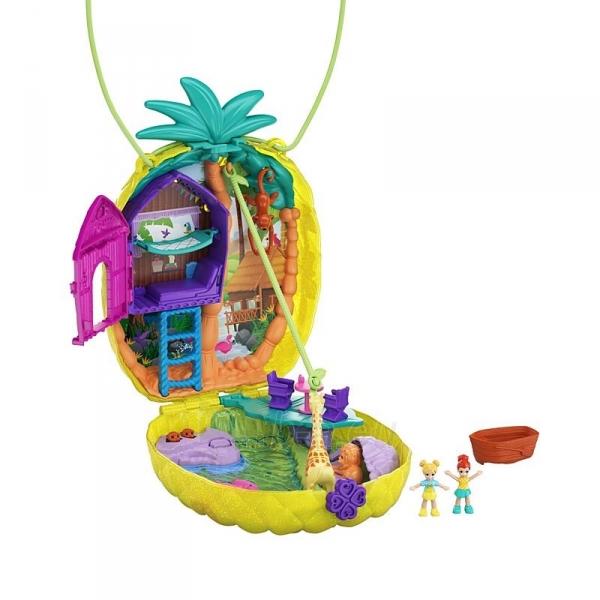 Rinkinys GKJ64 / GKJ63 Polly Pocket™ Polly™ & Lila™ Tropicool™ Pineapple Wearable Paveikslėlis 2 iš 6 310820230596