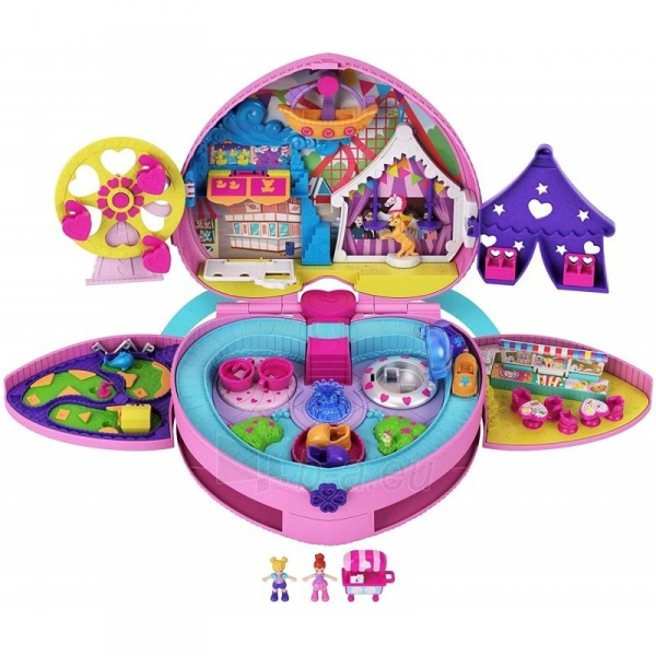 Rinkinys GKL60 Mattel Polly Pocket Tiny Is Mighty Theme Park Backpack Paveikslėlis 2 iš 6 310820230603