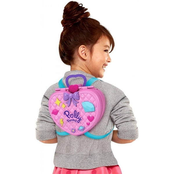 Rinkinys GKL60 Mattel Polly Pocket Tiny Is Mighty Theme Park Backpack Paveikslėlis 3 iš 6 310820230603