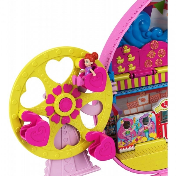 Rinkinys GKL60 Mattel Polly Pocket Tiny Is Mighty Theme Park Backpack Paveikslėlis 4 iš 6 310820230603