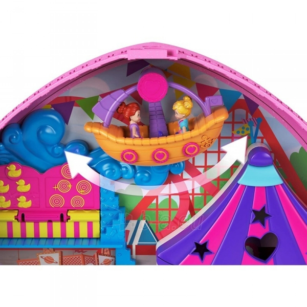 Rinkinys GKL60 Mattel Polly Pocket Tiny Is Mighty Theme Park Backpack Paveikslėlis 5 iš 6 310820230603