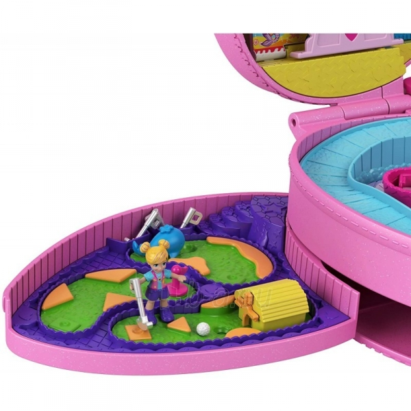 Rinkinys GKL60 Mattel Polly Pocket Tiny Is Mighty Theme Park Backpack Paveikslėlis 6 iš 6 310820230603