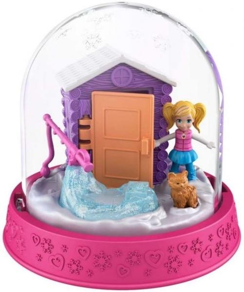 Rinkinys GNG67 / GNG66 Polly-Pocket Mattel Mini GNG67 Snow Globe Winter Christmas Paveikslėlis 2 iš 2 310820230704