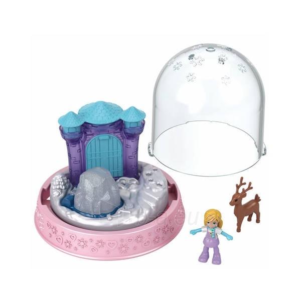 Rinkinys GNG68 / GNG66 Polly-Pocket Mattel Mini Snow Globe Winter Christmas Paveikslėlis 1 iš 1 310820230705