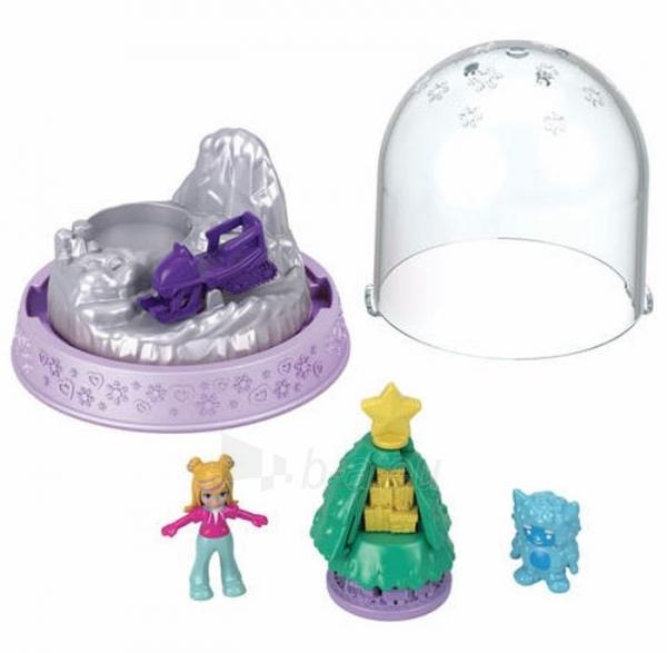Rinkinys GNG69 / GNG66 Polly-Pocket Mattel Mini Snow Globe Winter Christmas Paveikslėlis 1 iš 1 310820230706