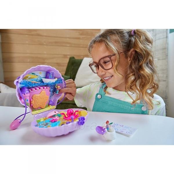 Rinkinys GNH11 Polly Pocket™ Tiny Power™ Seashell Purse Paveikslėlis 1 iš 6 310820230593