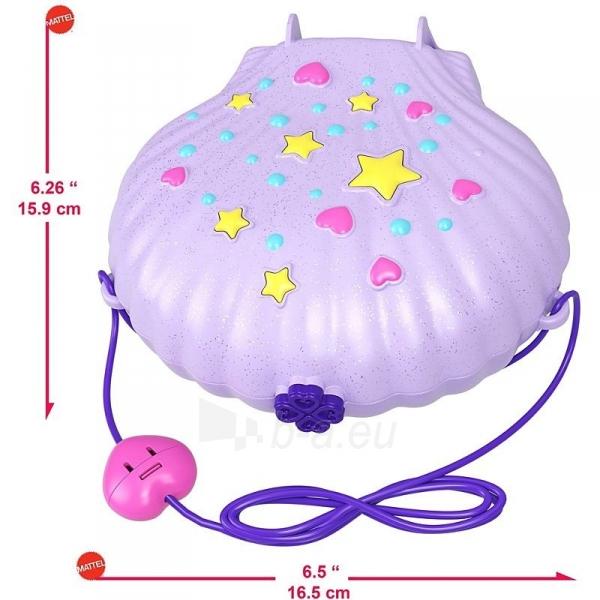 Rinkinys GNH11 Polly Pocket™ Tiny Power™ Seashell Purse Paveikslėlis 4 iš 6 310820230593