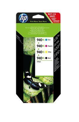 Rinkinys HP 940XL Combo Pack CMYK | OfficeJet Paveikslėlis 1 iš 1 310820048511