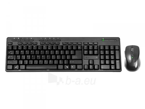 Rinkinys Klaviatūra+ pelė TRACER BlackJack USB, US Paveikslėlis 1 iš 3 250255701084