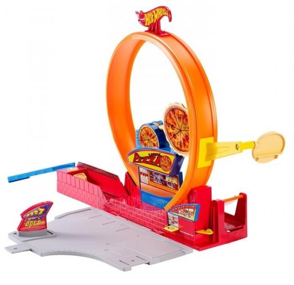 Rinkinys Moto BGJ05 / X9295 Mattel Hot wheels SPEEDY PIZZA Paveikslėlis 2 iš 2 310820136713