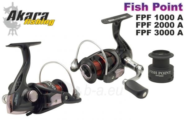 RITĖ AKARA FISH POINT FPF3000 4+1BB Paveikslėlis 1 iš 1 310820216359