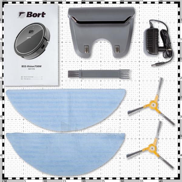 Robotas dulkių siurblys BORT VISION 700 Paveikslėlis 3 iš 10 310820241673