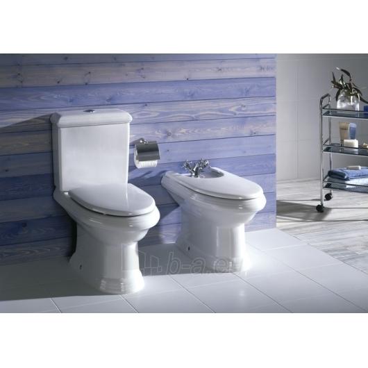 Roca America unitazas with bakeliu ir baltu cover Paveikslėlis 1 iš 3 270713000506