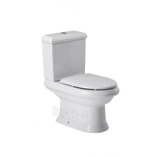 Roca America unitazas with bakeliu ir baltu cover Paveikslėlis 2 iš 3 270713000506