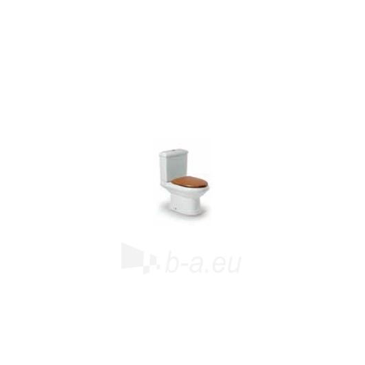 Roca America unitazas with bakeliu ir medienos imitacijos Slowclose cover Paveikslėlis 2 iš 3 270713000456