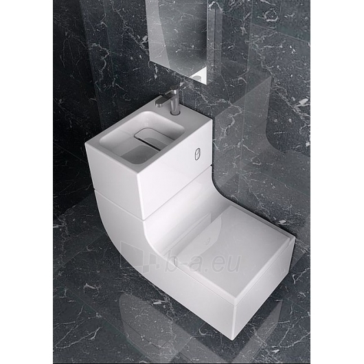 ROCA W+W WC ir praustuvas viename Paveikslėlis 2 iš 4 270711000766