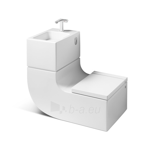 ROCA W+W WC ir praustuvas viename Paveikslėlis 3 iš 4 270711000766