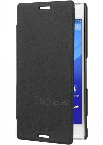 Roxfit  Xperia M4 AQUA Book Case (Black) Paveikslėlis 1 iš 3 250232002874