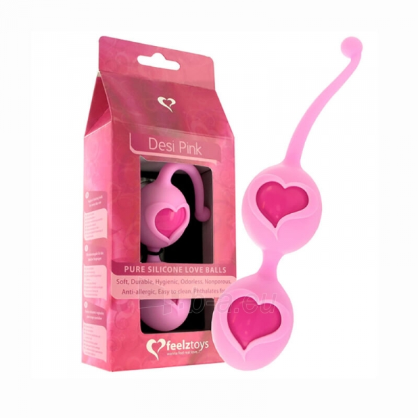 Rožiniai meilės kamuoliukai Paveikslėlis 1 iš 2 310820148919