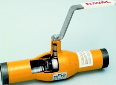 Rutulinis ventilis NAVAL virinamas, dujoms, d 4'' Paveikslėlis 1 iš 1 270113000060