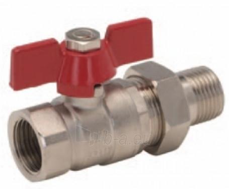 """Rutulinis ventilis su antgaliu d25 (1"""") TURIA Paveikslėlis 1 iš 1 270116000175"""