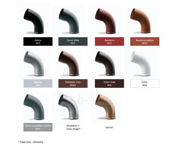RUUKKI Latako kampas (išorinis) 125 mm RR32 (ruda) Paveikslėlis 2 iš 2 237520000408