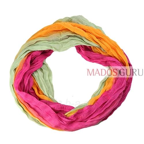 Bright scarf MSL647 Paveikslėlis 1 iš 1 30063100576