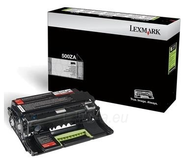 Ryškinimo blokas black Lexmark 500ZA | 60000 pgs | MS310d / MS310dn / MS410d / M Paveikslėlis 1 iš 1 2502560202165