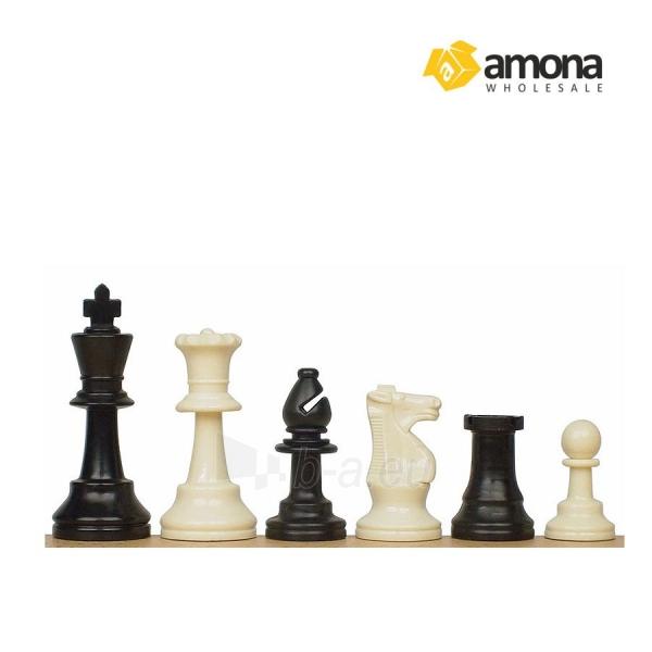 Šachmatai STAUNTON No. 6 plastikiniai Paveikslėlis 1 iš 2 310820039494