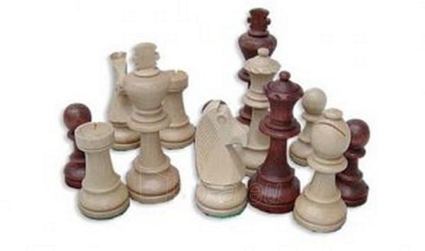 Šachmatai Staunton (maišelyje) Paveikslėlis 1 iš 2 251010000014