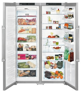 Refrigerator - freezer LIEBHERR SBSesf 7212 Paveikslėlis 1 iš 1 250116000688