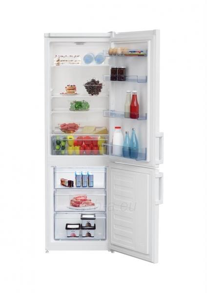 Refrigerator Fridge-freezer Beko RCSA225K21W Paveikslėlis 2 iš 2 310820144827