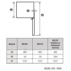 Šaldytuvas Samsung RB37K63632C/EF Paveikslėlis 12 iš 12 310820064415