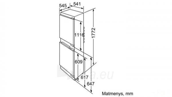 Šaldytuvas Siemens KI38VA50 Paveikslėlis 2 iš 2 250137000276