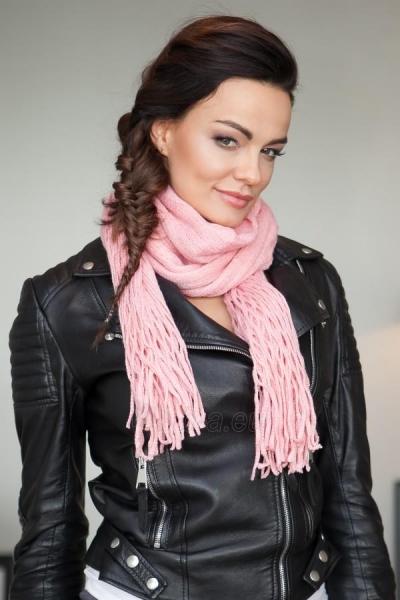 Šalikas Julia (šviesiai rožinės spalvos) Paveikslėlis 1 iš 2 310820036269
