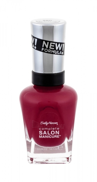 Sally Hansen Complete Salon Manicure Cosmetic 14,7ml 360 Plums The Word Paveikslėlis 2 iš 2 250874000425