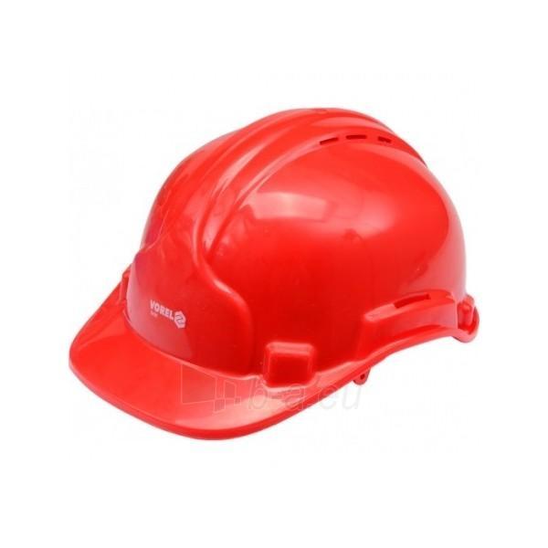 Šalmas apsauginis raudonas (MEI74191) Paveikslėlis 1 iš 1 224606300008