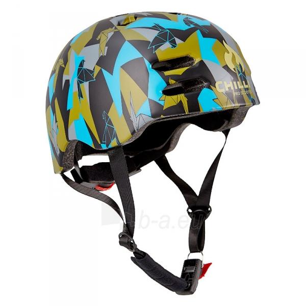 Šalmas Chilli inmold helmet 53x55cm black Urban Jungle size S Paveikslėlis 1 iš 1 310820087106
