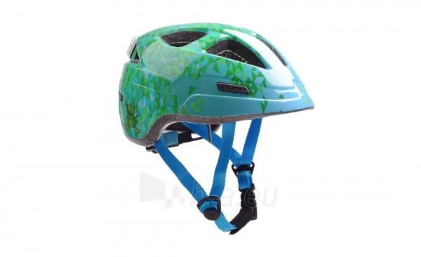 Šalmas Cube Junior PRO green triangle Paveikslėlis 1 iš 2 310820123304