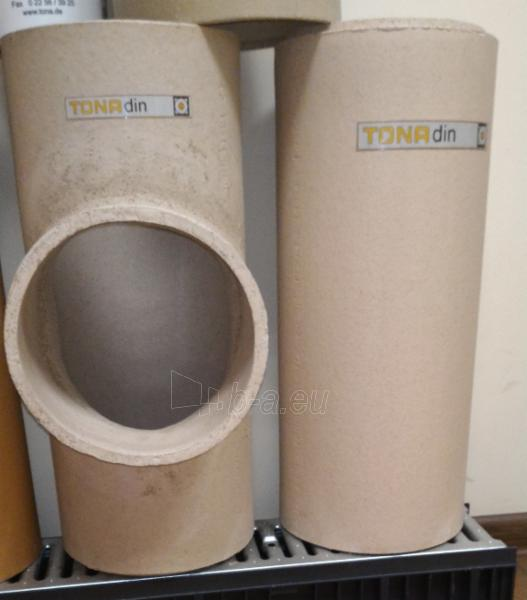 Fireclay flue TONA din 10m/Ø180mm with ventilation channel Paveikslėlis 5 iš 5 301207000068